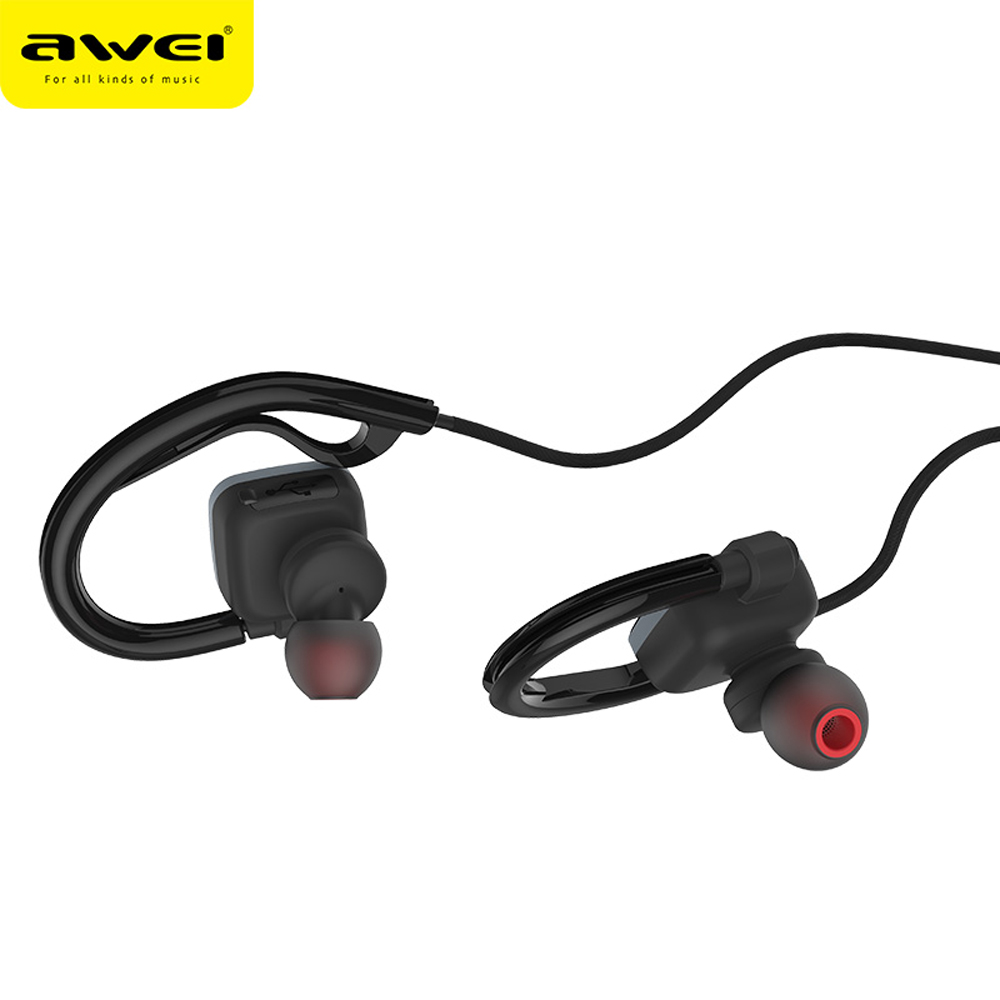 Awei Sport Ear Blutooth Cordless Auriculares Wireless Headphone Headset Bluetooth In-ear Earphone For Your Phone Earbud Earpiece awei sport blutooth earbud earpiece cordless auriculares bluetooth earphone for your in ear phone bud wireless headphone headset
