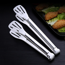 """9"""" 12"""" Stainless Steel Kitchen Tongs BBQ Tongs Food Buffet Salad Clip Cooking Bread Clamp Ice Tong Serving Utensil Accessories"""