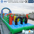 FREE SHIPPING BY SEA Outdoor Inflatable Obstacle Course  Inflatable Bouncer Combo For Sale