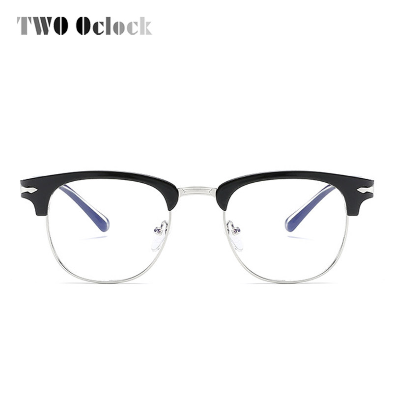 Online Shop TWO Oclock Ultra Light TR90 Eye Glasses Frame Women Men ...