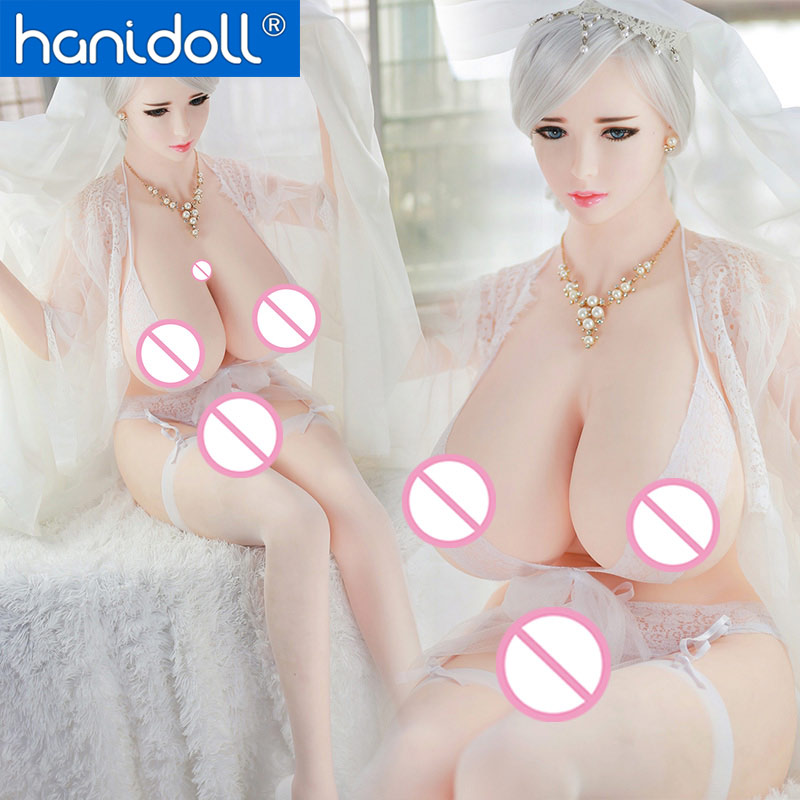 Hanidol NEW 170cm 5 57 ft Real Silicone Sex Dolls HUGE Breast Lifelike sex pussy Masturbator