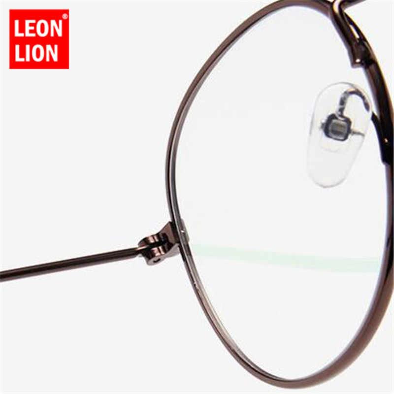 LeonLion 2019 lustro metalowe okulary przeciwsłoneczne damskie Vintage marka projektant płaskie okrągłe okulary UV400 Street Beat Oculos De Sol Gafas