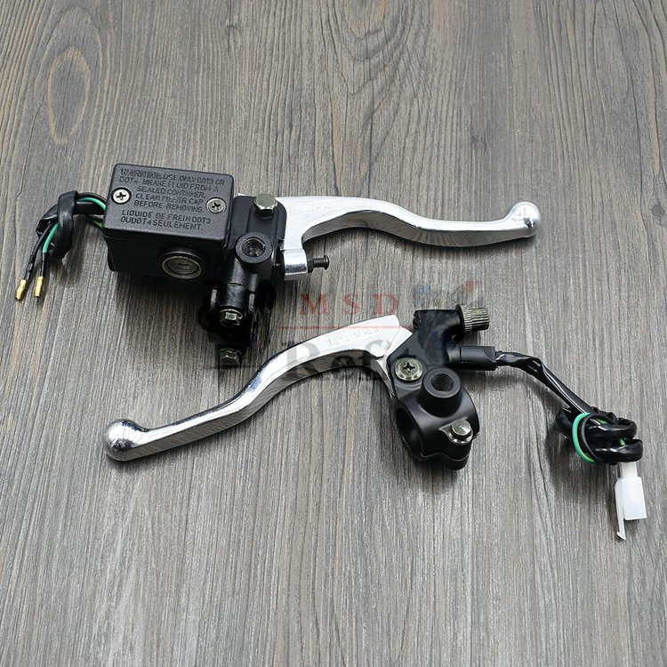 Brake Master Cylinder Pump Clutch Levers For SUZUKI DRZ DR Z 400E/400S/400SM DR 200SE/250 DRZ400 E/S/SM DRZ400S DRZ400SM-in Levers, Ropes & Cables from Automobiles & Motorcycles    1