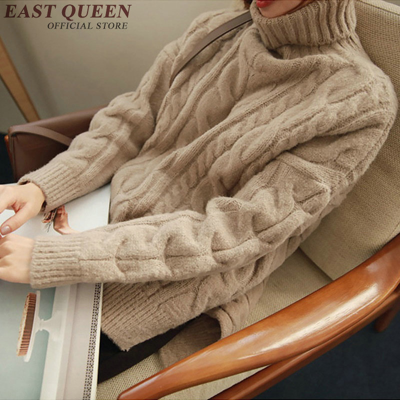 2018 winter sweater woman turtle neck sweater elegant weave woman sweater pullovers long sleeve free size