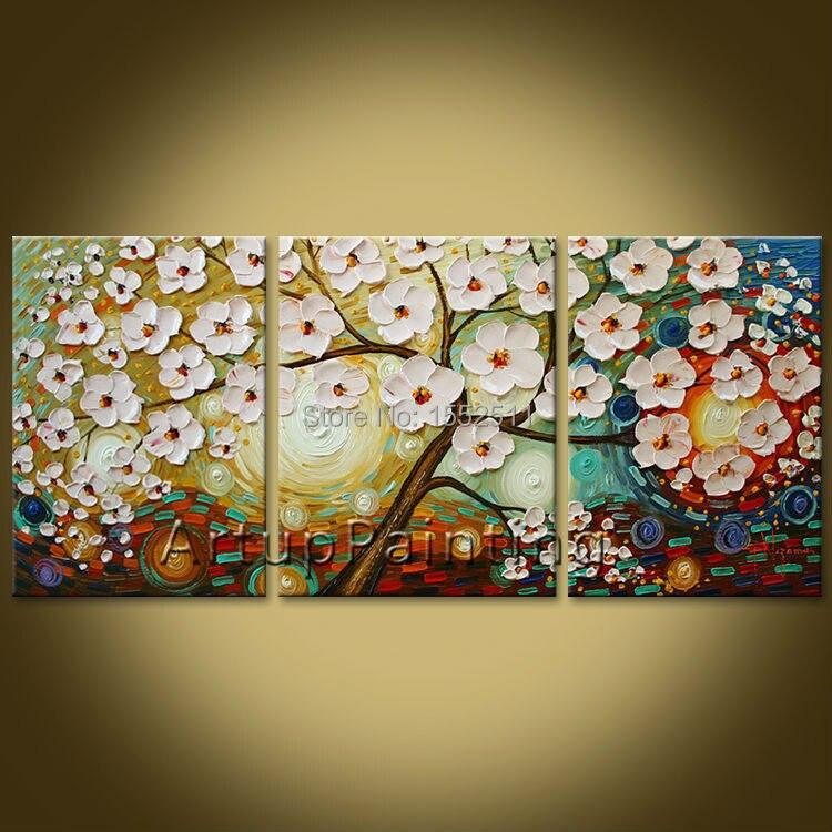 Olejomalba 3 Panel 3 kus Plátno Cuadros decoracion Nástěnka Umění Obrázek Moderní Abstrakt Domácí Dekor Obývací pokoj 01