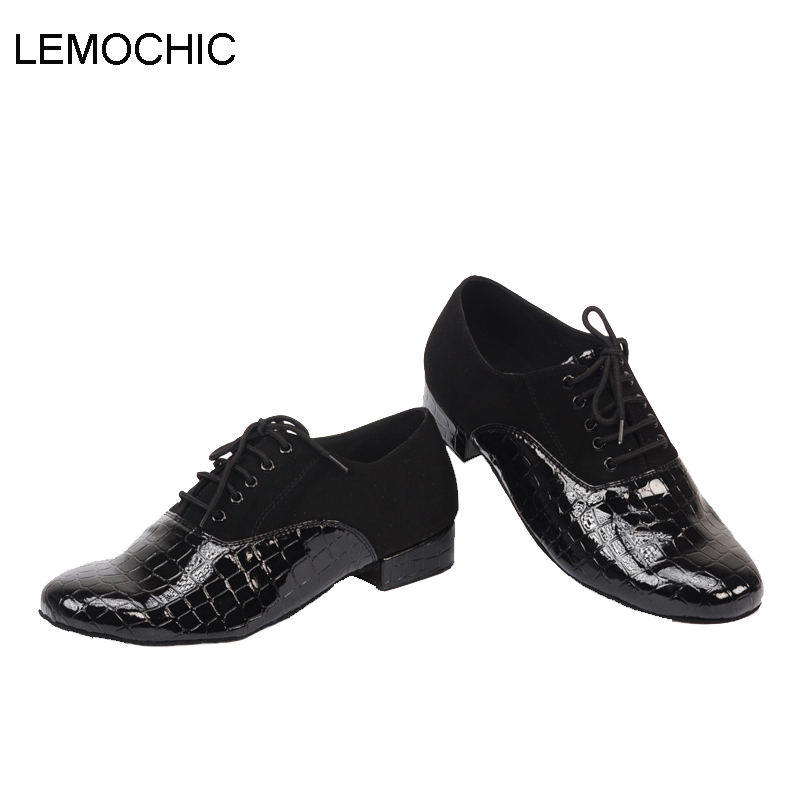 LEMOCHIC men professional bally jazz cha cha pole salsa genuine leather rumba samba latin tango ballroom pointe dancing shoes купить