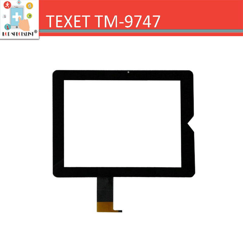 NEW 9.7 for TeXet TM-9747 TM-9747BT TM-9748 3G touch screen digitizer sensor glass Black Replacement Parts