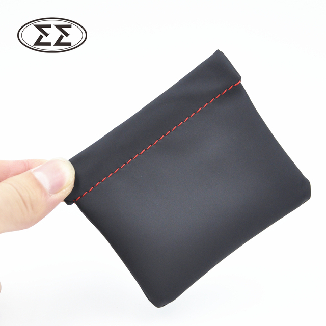 2016 Earphone Accessories Senfer Case Bag PU Leather Earphone Case Portable Bag For Headphone Accessories