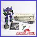 MODEL FANS IN-STOCK weijiang TF G1 metal made MP10 Enlarged version  MPP10E EVA COLOR Optimus Prime with Trailer Carriage