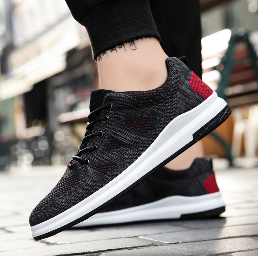 SAGYUA Newest Men Hombre Male Casual Fashion Summer Knitting Air Mesh Travels Walking Zapatillas Chaussures Sapatos Shoes T387