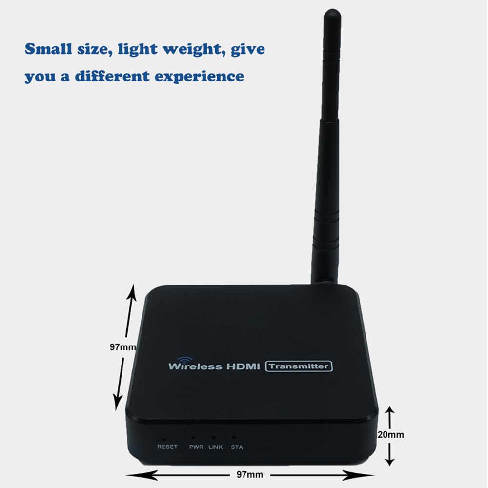 ZY-DT216 5GHz transmisja bezprzewodowa System bezprzewodowy przedłużacz HDMI nadajnik-odbiornik wideo WIFI 100m bezprzewodowy zestaw nadawczy HDMI
