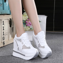2017 new spring summer women's high-end casual training Vulcanized shallow mouth Shoes Female flat shoes