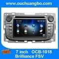 Автомобиль DVD gps радио мультимедиа навигация для Brilliance FSV с MP3 USB 2015 бесплатный Чили Перу ближний восток карта бесплатный камера