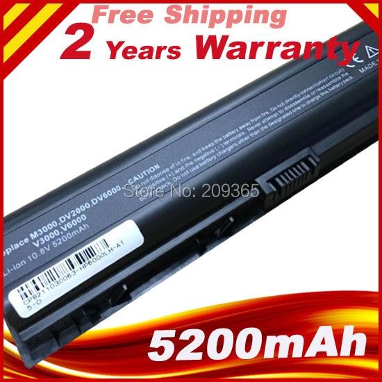 Laptop Battery For HP HP PAVILION DV2000 DV6000 COMPAQ A900 C700 V3000 V6000 DV6100 DV6300 DV6200 DV6400 DV6500 DV6600 DV6500T