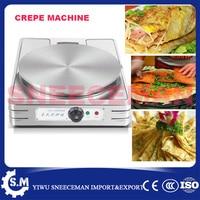 غير القابل للصدأ لوحة كهربائية كريب صانع كريب آلة شواء مع قطر 380 ملليمتر crepe grill machine crepeelectric crepe machine -