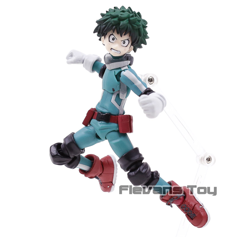 My Hero Academia Figma #323 Deku Midoriya Izuku PVC Action Figure Toy Movable Model Collection все цены
