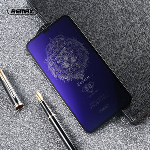 Image 1 - REMAX 9D Anti Blue Ray Tempered Glass For for iPhone X XS XR XSMA Anti Blue Light Screen Protector 9H Toughened Film