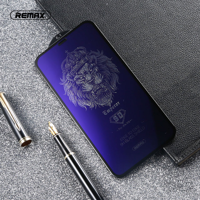 REMAX 9D Anti Blue Ray Tempered Glass For for iPhone X XS XR XSMA Anti Blue Light Screen Protector 9H Toughened Film