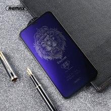 REMAX 9D Anti mavi ışın temperli cam iPhone X XS XR XSMA anti mavi ışık ekran koruyucu 9H sertleştirilmiş Film