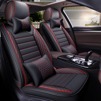 car seat cover vehicle chair leather case accessories for dacia lodgy logan dokker skoda rapid superb toyota auris c hr chr
