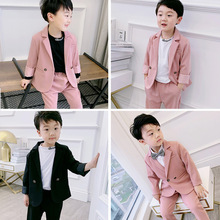 2019 new tide childrens  South Korea handsome suit children boys clothes kids clothing boutique ALI 340