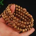 Fashion Vintage Wenge Natural Wood 6MM/8MM Beads Stretch Wooden Bracelet Men handmade 108 Buddha Bracelets & Bangle Gift Charm
