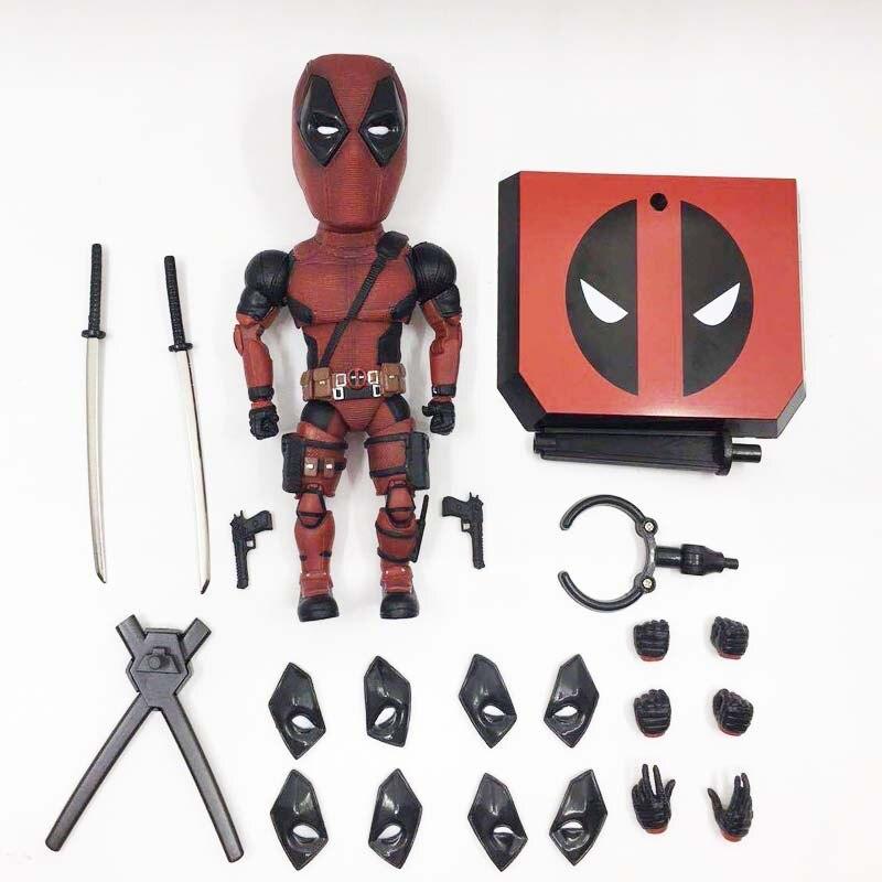 Marvel оригинал высокое качество мутацией искусств Дэдпул 2 BJD ПВХ фигурку Коллекционная модель игрушки