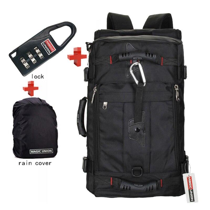 Lock Cover Bag 3PC Laptop Backpack Men Large Capacity Backpack Man s Travel Backpacks Men s