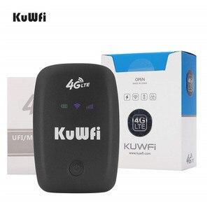 Image 5 - Kuwfi Mở Khóa Router 4G LTE Wifi Di Động 3G/4G Wifi Router Có Khe Sim hỗ Trợ LTE FDD B1/B3/B5