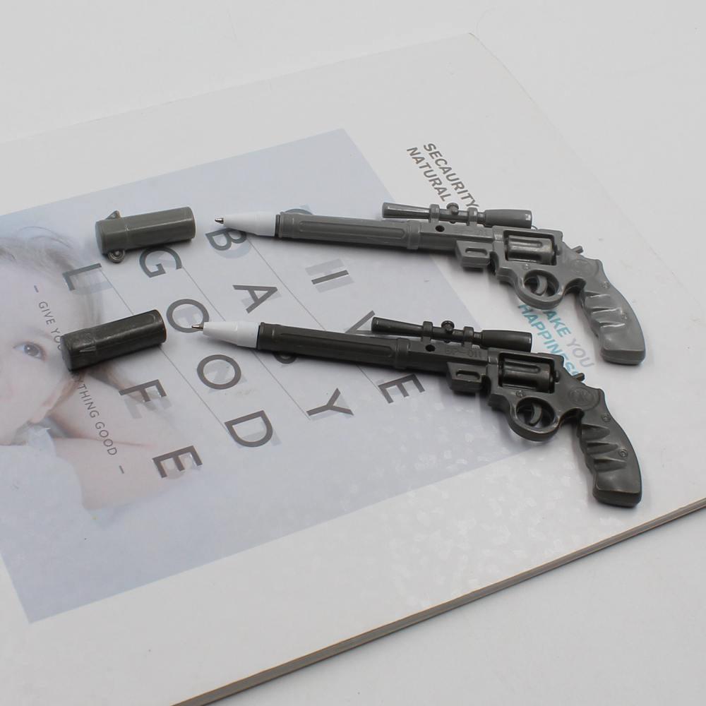 Ballpoint Pens 2pcs 0.7mm Five Kinds Of Shooting Guns Ballpoint Pen Novelty Stationery Cute Funny Kawaii Round Roller Gun Pen School Supplies Removing Obstruction Office & School Supplies