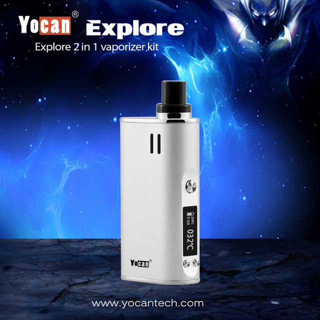 Yocan Explore 2-in-1 Wax and Dry Herb Mod Kit 2600mAh Battery 5