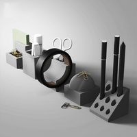 The Desktop Decoration Designer Accessories Stationery Handicrafts Incorporating Personality Cement Silicone Mold