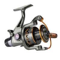 Max Drag 18KG fishing Brake Wheel System Freshwater Spinning Reel For Carp Fishing Metal spool Fishing Reel Carretilha Pesca