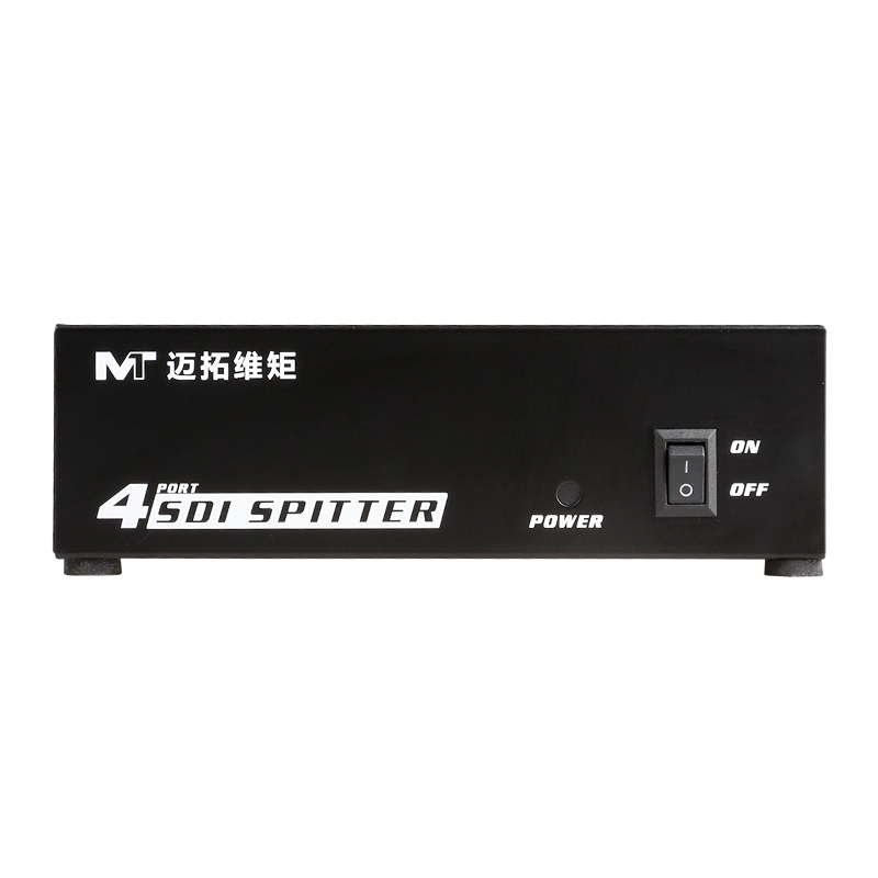 4 Port SDI Splitter distributor 1 input 4 output Duplicator Support SD, HD, 3G High Quality MT-VIKI SD104 mt viki dv4h 4 port dvi splitter distributor video sharing 1 input to 4 output multiple lcd monitor synch display mt dv4h