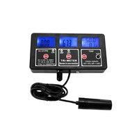 7 En 1 LCD Multi-paramètre Test De Compteur D'eau Multi-fonction ORP/PH/RH/CE/CF/TDS/TEMPÉRATURE Testeur De Qualité De L'eau