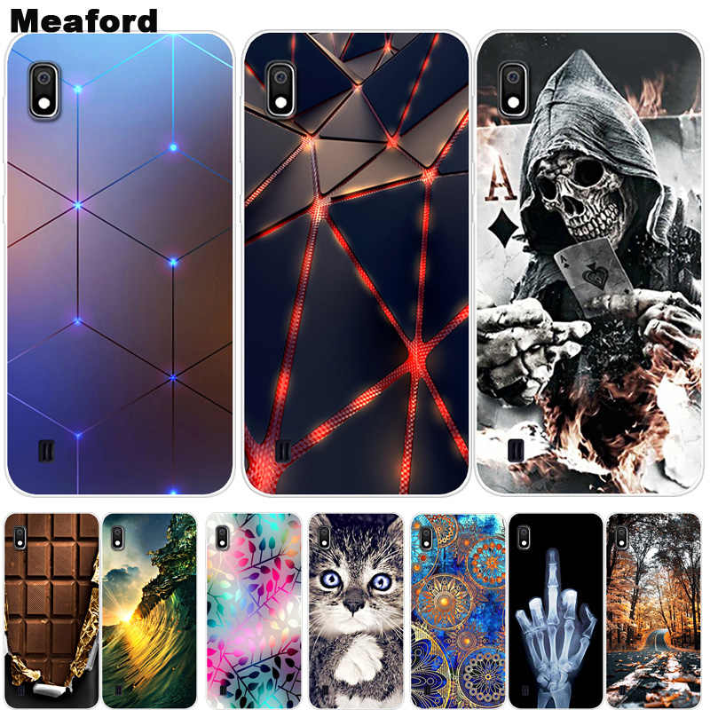 For Samsung A10 Case A10S A11 Cover Soft Silicone Back Cover Phone Case on For Samsung Galaxy A01 A10 S A10S A 10 A105 Cover A11