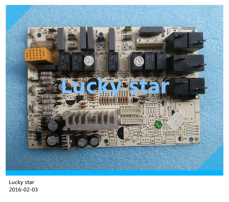 98% new for Gree Air conditioning computer board circuit board GR3X-A2 3453E 30033066 good working 95% new for haier refrigerator computer board circuit board bcd 198k 0064000619 driver board good working