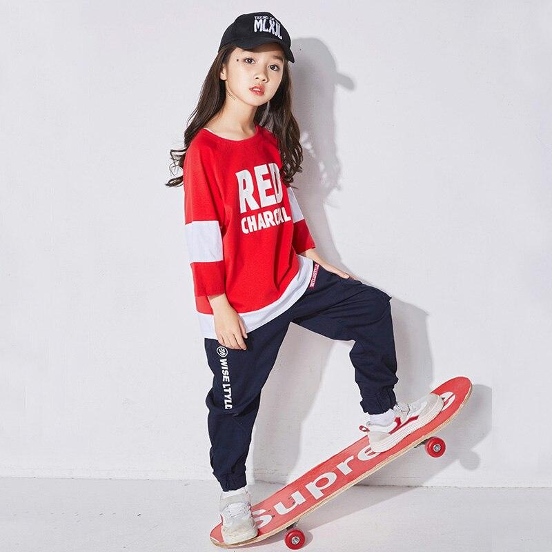 2019 Ultimo Disegno Hip Hop Costumi Di Danza Per Bambini Pole Abbigliamento Per La Danza Vestiti Di Prestazione Dei Bambini Di Autunno Ragazze Di Strada Usura Della Fase Di Ballo Dqs1224 Prezzo Più Conveniente Dal Nostro Sito