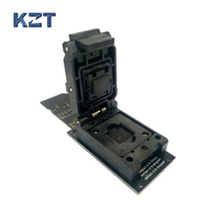 EMMC Reader Test Socket With SD Interface Clamshell Structure BGA153 BGA169 Chip Size 12x16mm Pitch 0