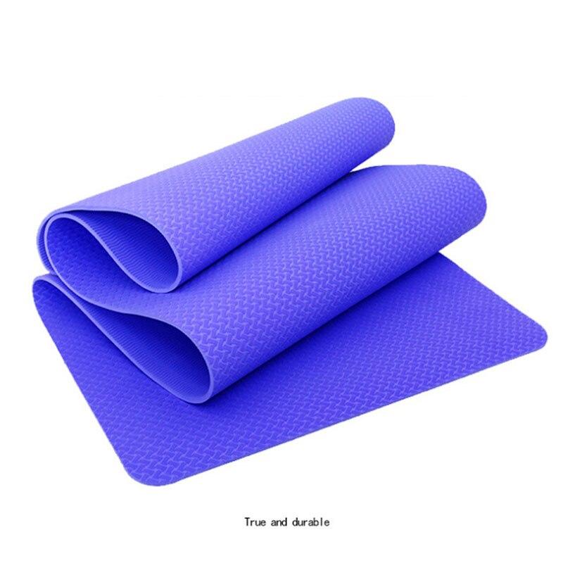 6mm Extra épais haute qualité NRB tapis de Yoga antidérapants pour Fitness environnement insipide Pilates Gym exercices tampons avec Bandage