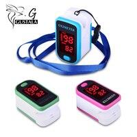 Gustala Health Care Oximeter Blood Pressure Monitor Meter LED Display Design Fingertip Pulse Oximeter Spo2 PR