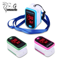 Gustala Health Care Oximeter Blood Pressure Monitor Meter LED Display Design Fingertip Pulse Oximeter Spo2 PR