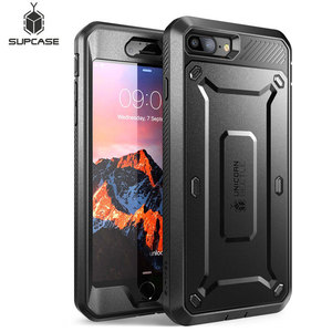Image 1 - SUPCASE For iphone 8 Plus Case UB Pro Series Full Body Rugged Holster Protective Cover with Built in Screen Protector