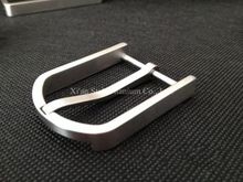 Pure Titanium Belt Buckle Allgery-free Harmless to skin 15g/pc for Belt Width less 32mm