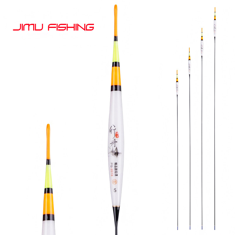 2019 Self Stand Floats Composite Nano Fishing Floats Long Foot Buoy Big Buoyancy Bobber High Sensible Fishing Tackle Accessories