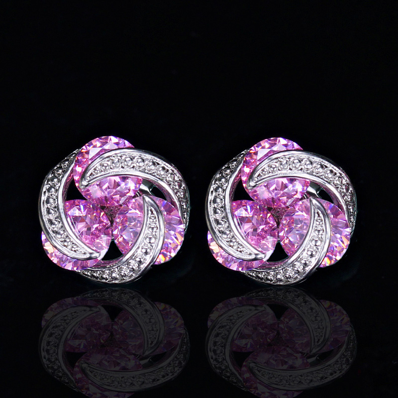 Crystal Stud Earrings5
