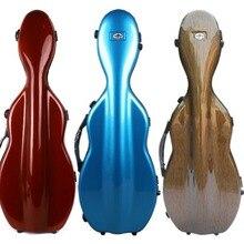 Yinfente 4/4 чехол для скрипки из композитного углеродного волокна, светильник для скрипки, вес 1,9 кг