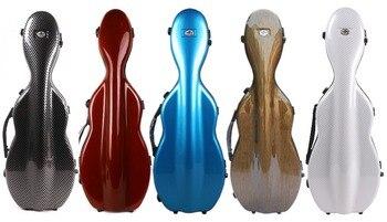 yinfente 4/4 violin case composite carbon fiber Violin Box light strong 1.9kg Weight