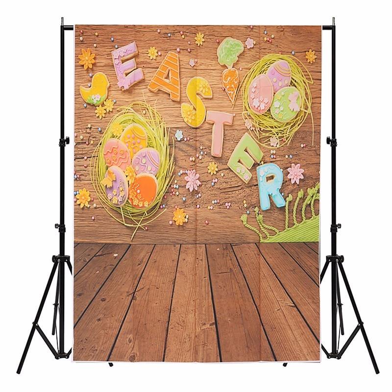 3x5ft Vinyl Easter Egg Brick Wall Photography Backdrop ...