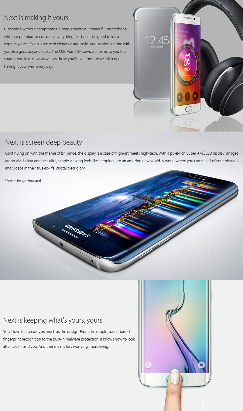 Big Sale] Unlocked Original Samsung Galaxy S6 G920F/S6 Edge